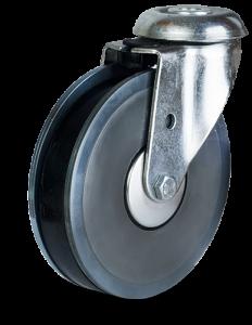Koło z elastycznym bieżnikiem 363b-810-7575-1