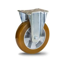 Koło aluminiowo poliuretanowe duże udźwigi